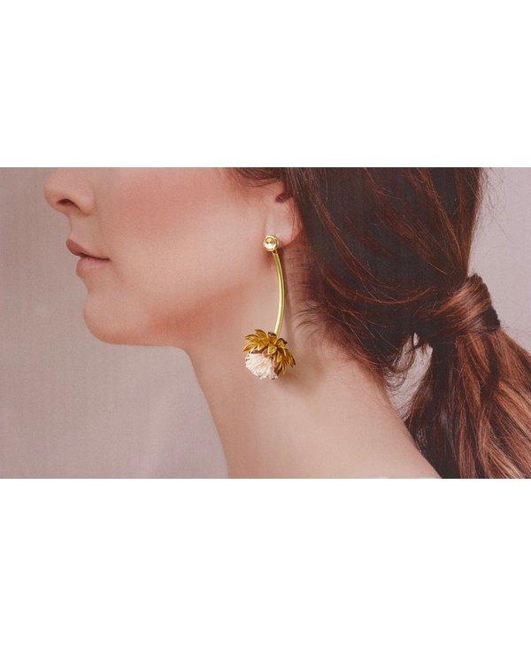 Boucles d'oreilles Cynara - 2 couleurs