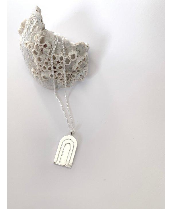 DUNE silver pendant