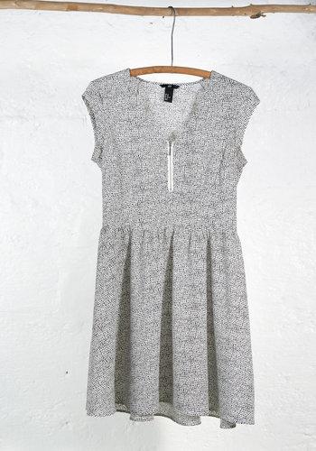 Light black and white dress
