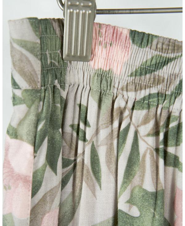 Faded roses skirt
