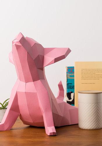 Modèle 3D - Yoga Dog