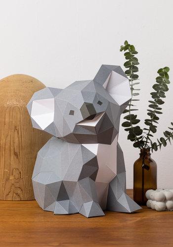 3D paper model - Baby Koala
