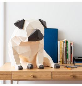 Sofs 3D paper model - Carlin (Pug)