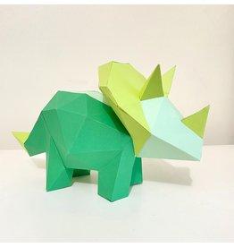 Sofs Modèle papier 3D - Triceratops