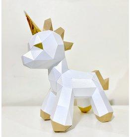 Sofs Modèle papier 3D - Bébé Licorne