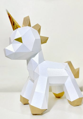3D paper model - Baby unicorn