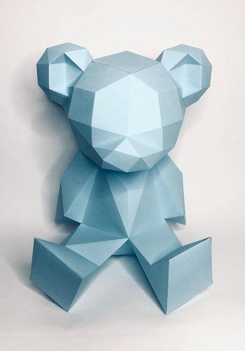 3D paper model - Teddy Bear