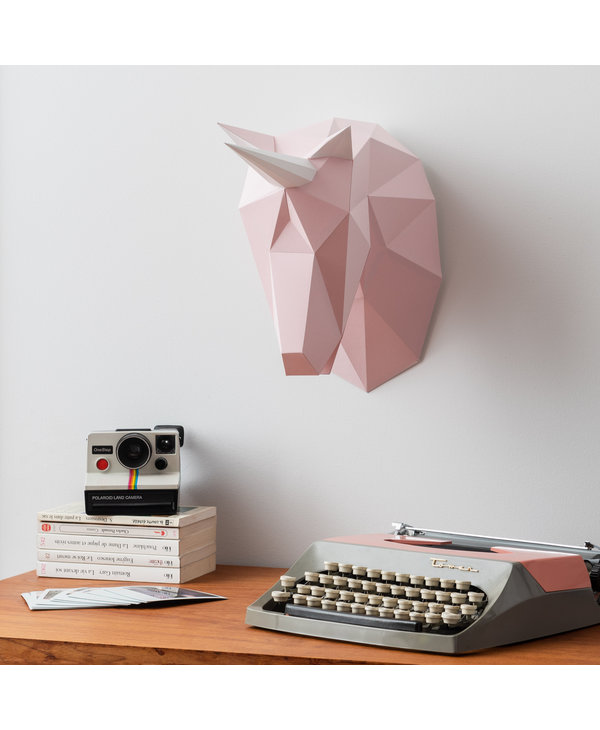 3D paper model - Unicorn