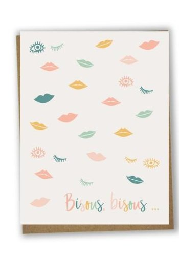 Carte - Bisous bisous