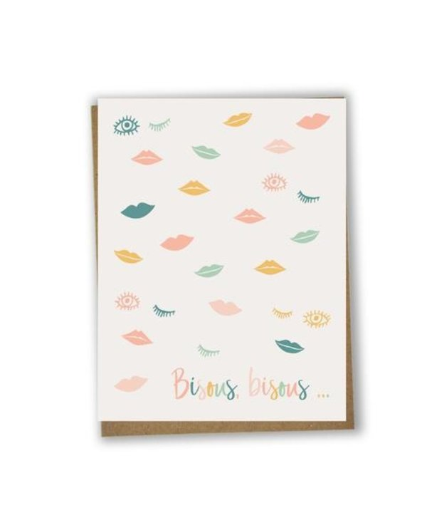 Card - Bisous bisous