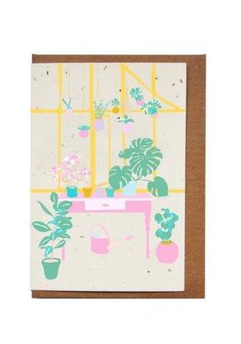 Carte ensemencée - Plantes