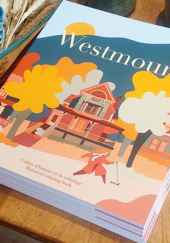 Livre à colorier - Westmount