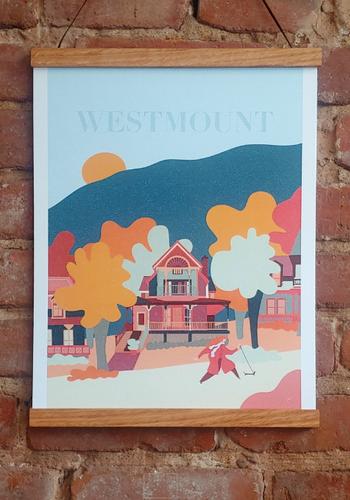 Poster - Westmount 30 x 40 cm