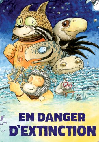 Book - En danger d'extinction
