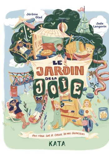 Book - Le jardin de la joie