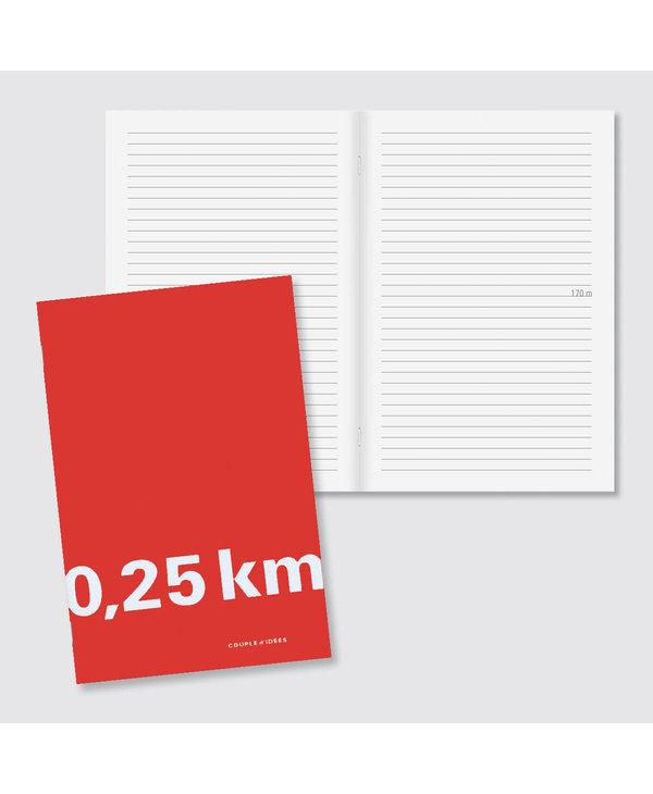 Notebook 0,25 km