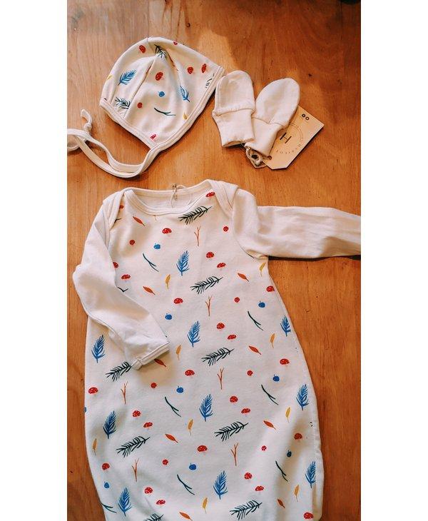 Haricot - Bonnet béguin bébé