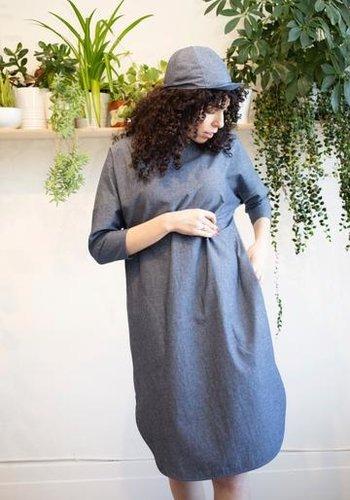 2107w Robe droite