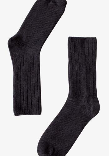 B0012 - Chaussettes Mérinos Noir
