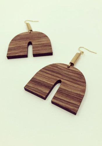 Tuut Earrings (wood)