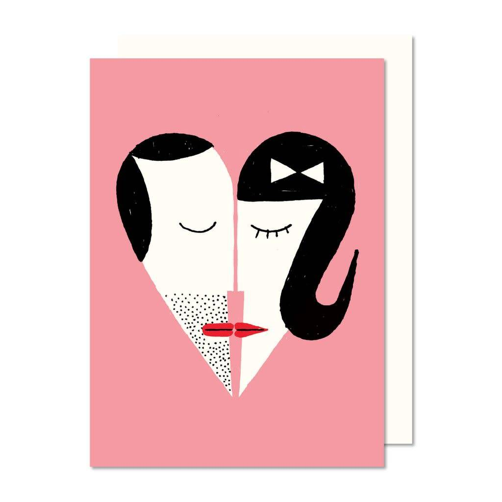 Paperole Paperole Boy+Girl Greeting Card