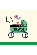 Paperole Paperole Bravo Mini Greeting Card
