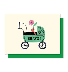 Paperole Mini Bravo Greeting Card