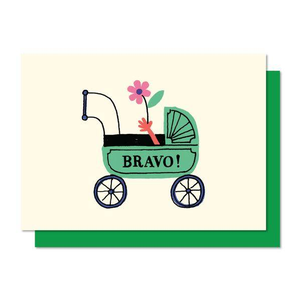 Paperole Paperole Bravo Mini Greeting Card