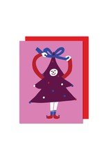 Paperole Christmas Tree Greeting Card