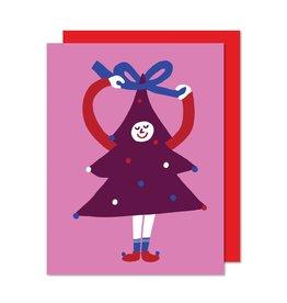 Paperole Carte Sapin Coquet