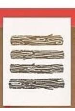 Darveelicious Darveelicious - Yule Logs Greeting Card
