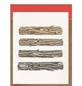 Darveelicious Yule Logs Greeting Card