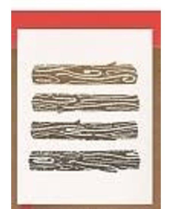 Darveelicious - Yule Logs Greeting Card