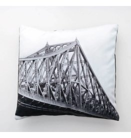 Fotofibre Jacques Cartier Bridge Cushion