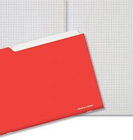 Couple d'idees Project Series:  Warm Red Notebook