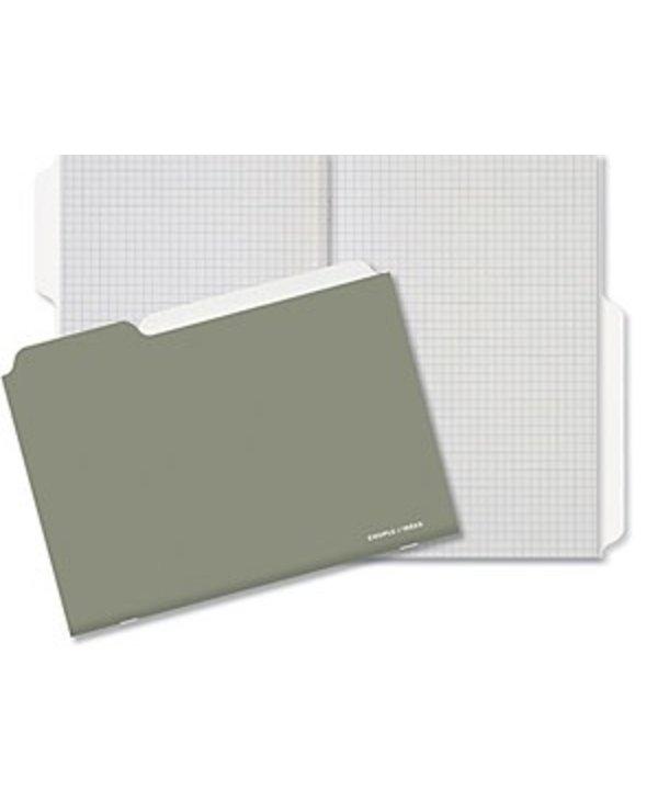 Couple d'Ideés Project Series: Warm Grey Notebook