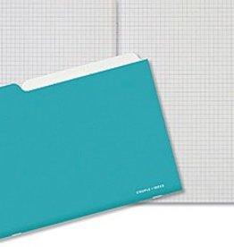 Couple d'idees Serie Projet: Cahier Aqua