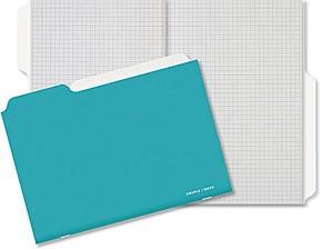 Couple d'idees Couple d'Ideés Serie Projet: Cahier Aqua