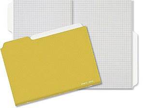 Couple d'idees Couple d'Ideés Project Series: Ocre Notebook