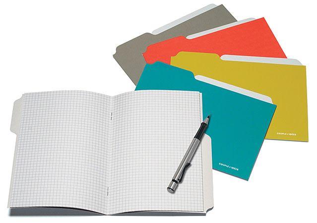 Couple d'idees Couple d'Ideés Project Series - 4 Notebooks