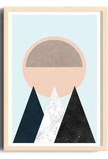 Toffie Toffie Mountain Sun 18x24 Art Print