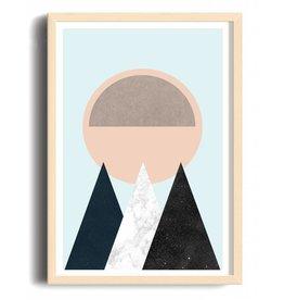 Toffie Mountain & Sun 12x18