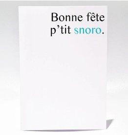 Masimto Greeting Card P'tit Snoro