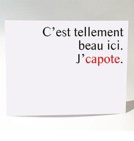 Masimto Postcard J'capote