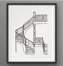 Darveelicious 8x10 Print - Stairs