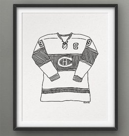 Darveelicious 5x7 Print - Canadiens