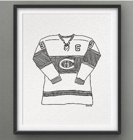 Darveelicious Affichette 5x7 Canadiens