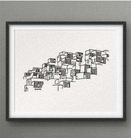 Darveelicious 5x7 Print - Habitat 67