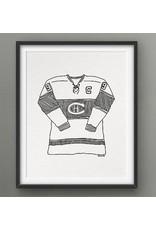 Darveelicious Darveelicious Les Canadiens Affiche 8x10