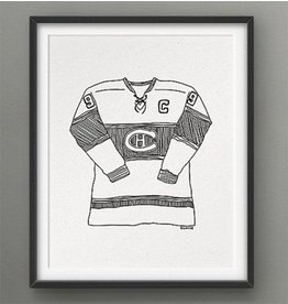 Darveelicious 8x10 Print - The Canadiens